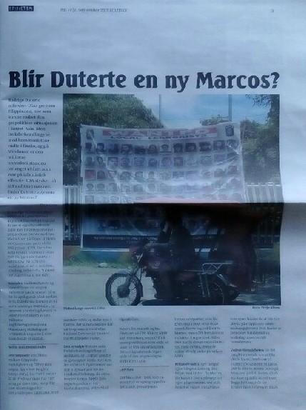 Duterte en ny Marcos