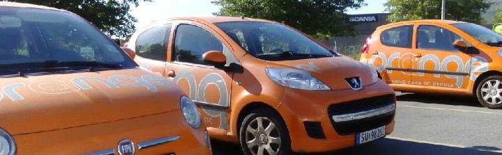 orange biler