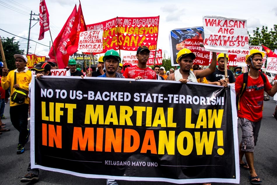 Demo martial law