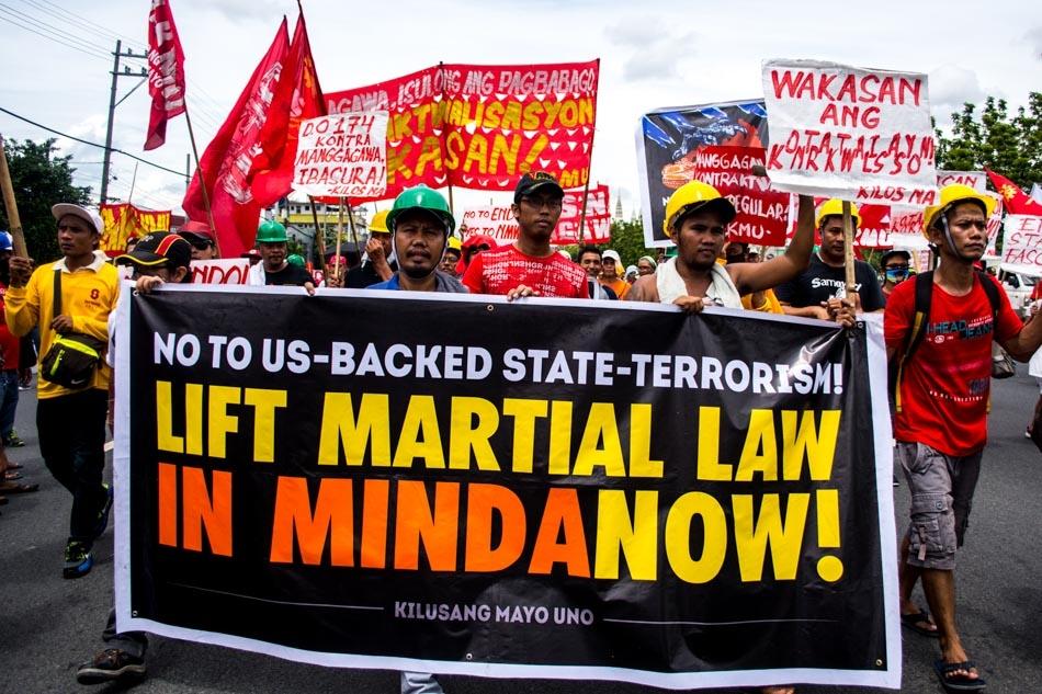 Demo martial law