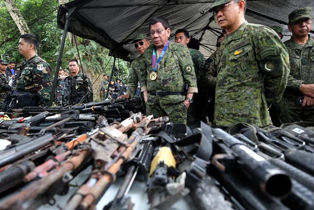 Duterte i Marawi City