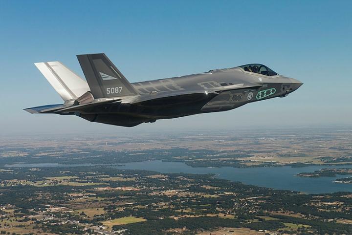 F-35 testflyging
