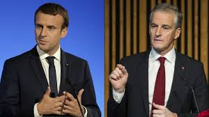 Macron og Støre