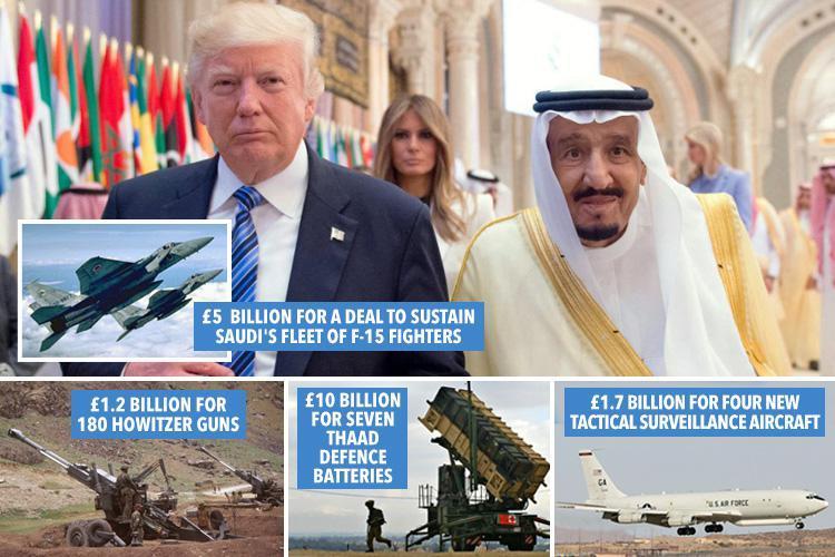 Våpensalg til saudi