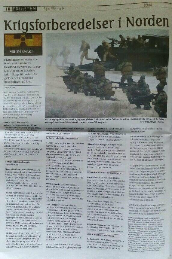 Krigsforberedelser i Norden