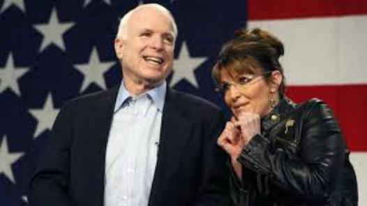 Mc Cain og Sarah Palin 2