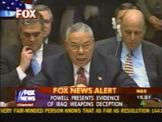 Colin Powell i FN 05022003