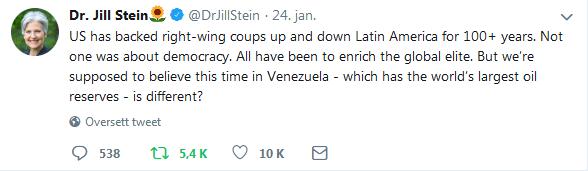 Jill Stein tweet 2