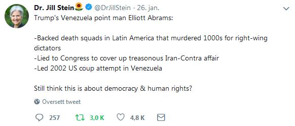 Jill Stein tweet