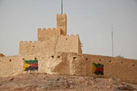 pro-Azawad grafitti i Kidal provinsen