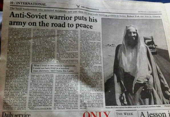 Bin Laden i The Indpendent 1993