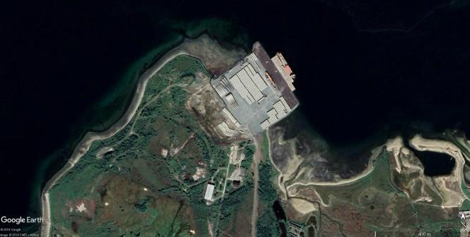 Tønsnes Tromsø Google Earth