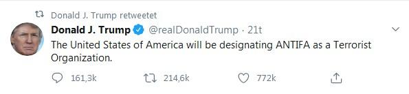 Trump Antifatweet